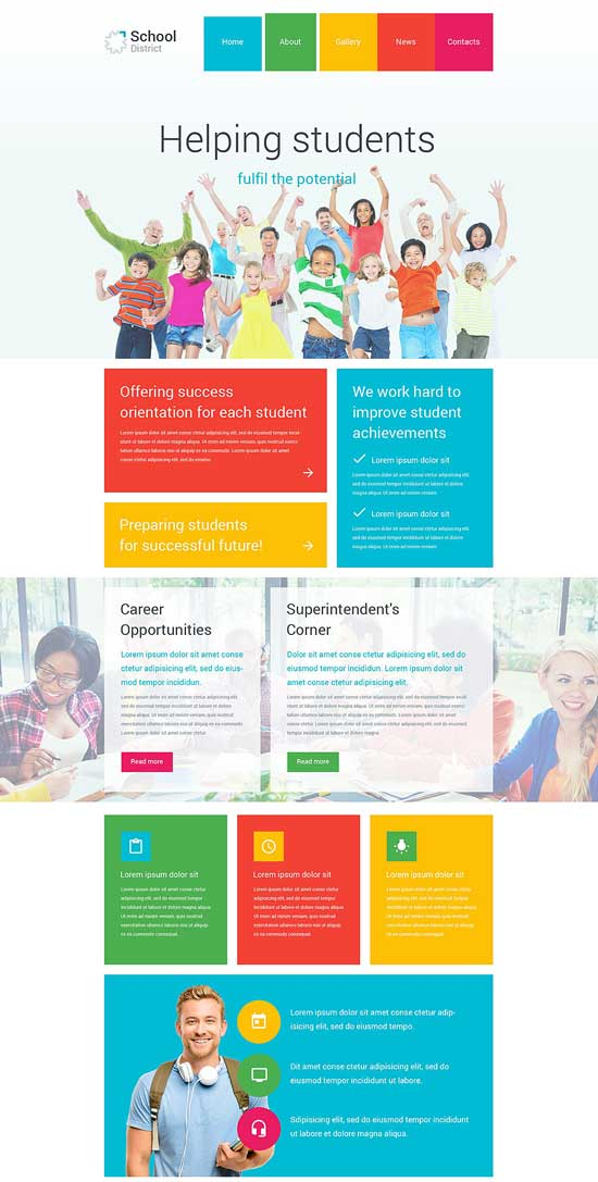 School-District-WordPress-Theme