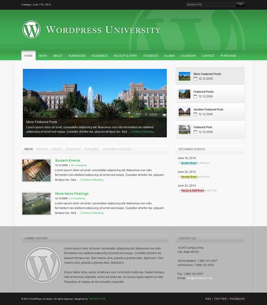 University-WordPress-Theme-For-College