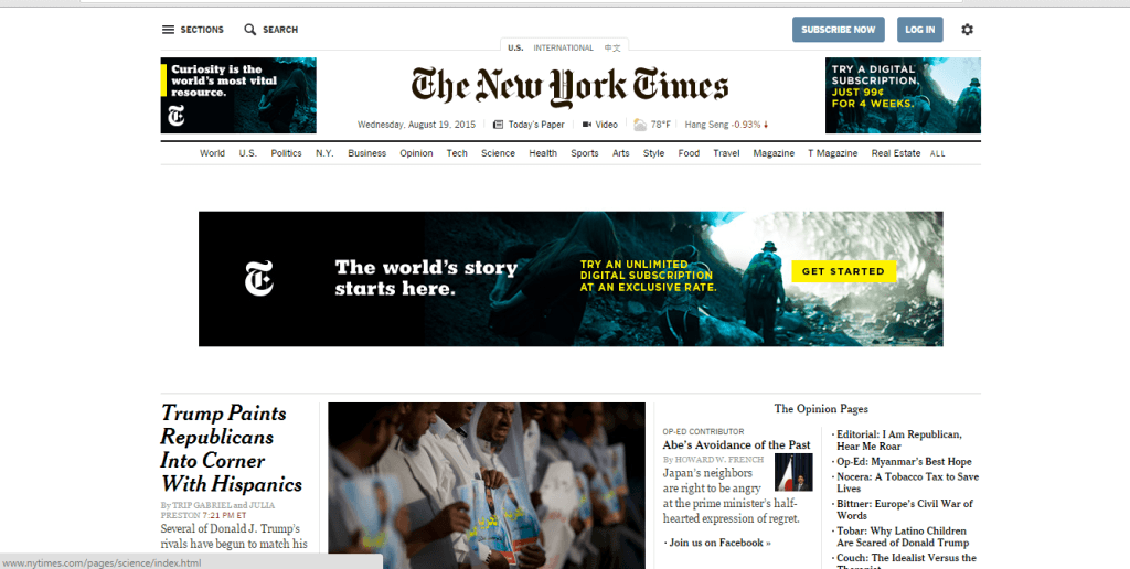nytimes new